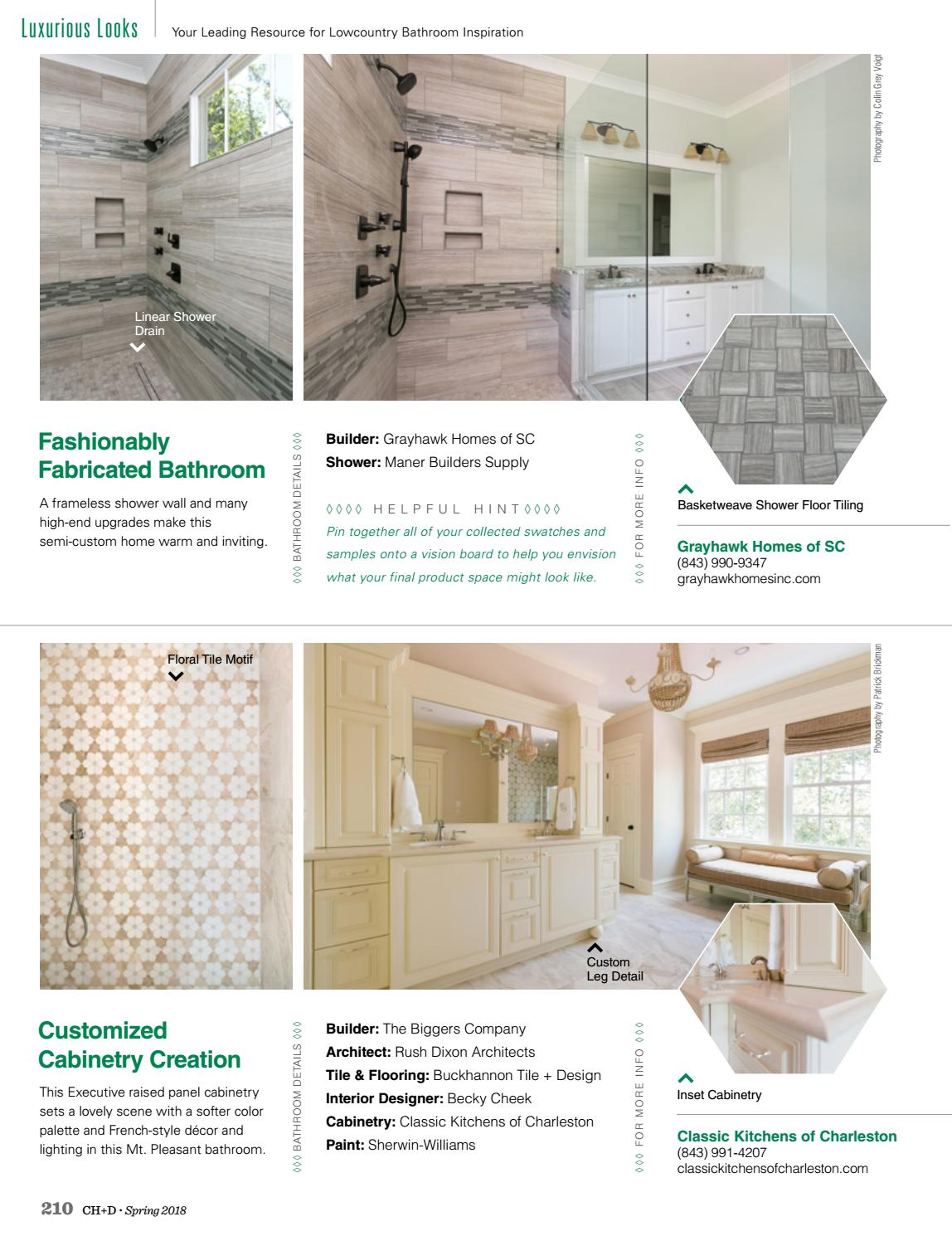 Charleston Home Design Magazine Spring 2018 By Charleston Home Design Magazine Issuu