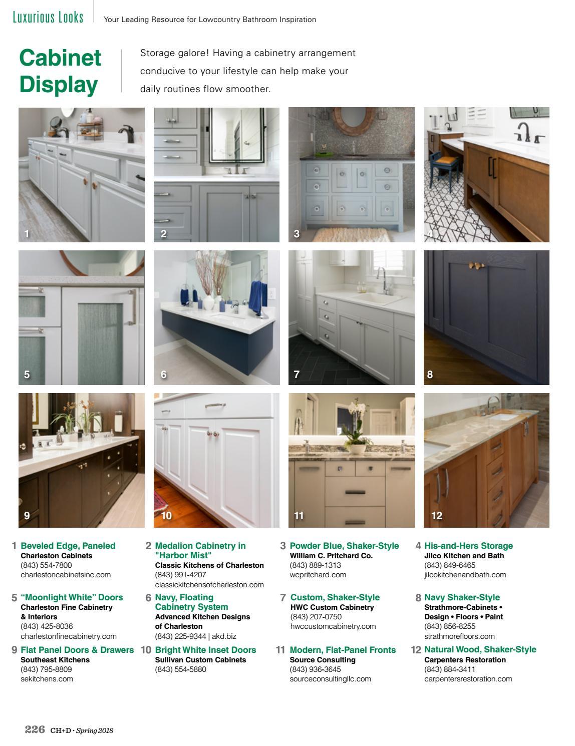 Charleston Home Design Magazine Spring 2018 By Charleston Home Design Magazine Issuu