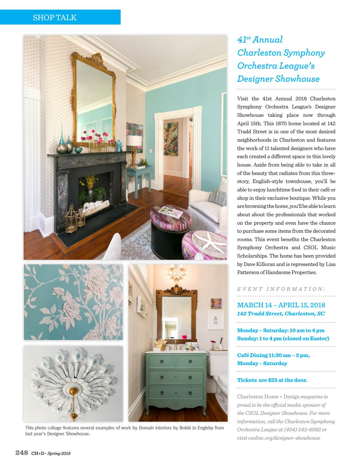 Beautiful Charleston Home Design Magazine Adornment - Home ...