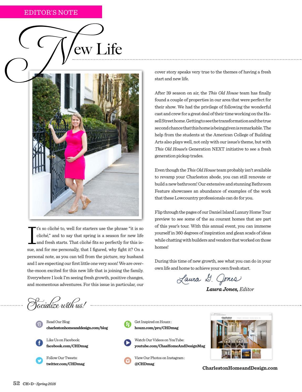 Charleston Home + Design Magazine: Spring 2018 by Charleston Home + ...