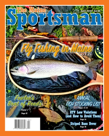 The Maine Sportsman - April 2018 by The Maine Sportsman - Digital