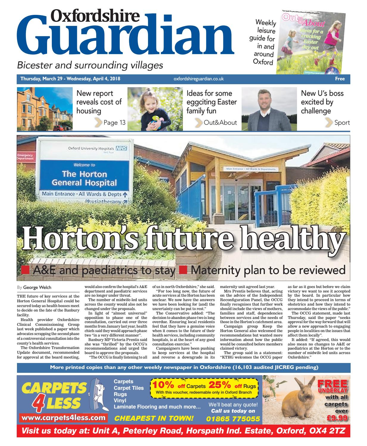 29 march 2018 oxfordshire guardian bicester by taylor newspapers issuu rh issuu com