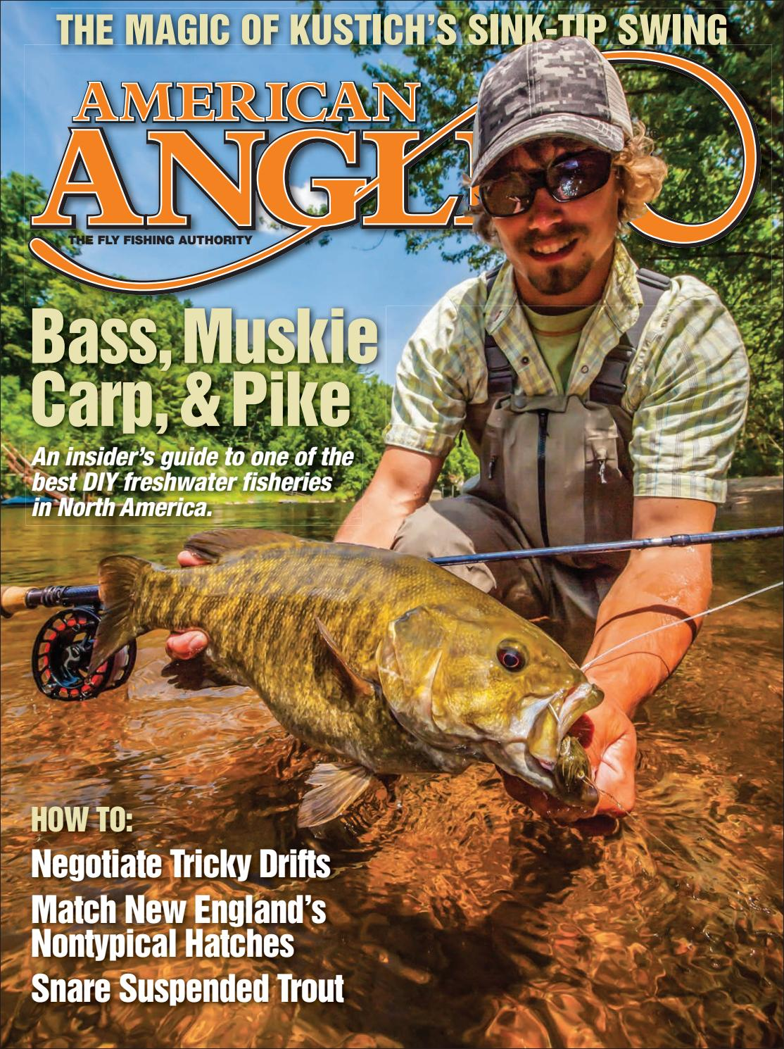cb4ea1717bd4e American Angler May June 2018 by Cowboy Publishing Group - issuu
