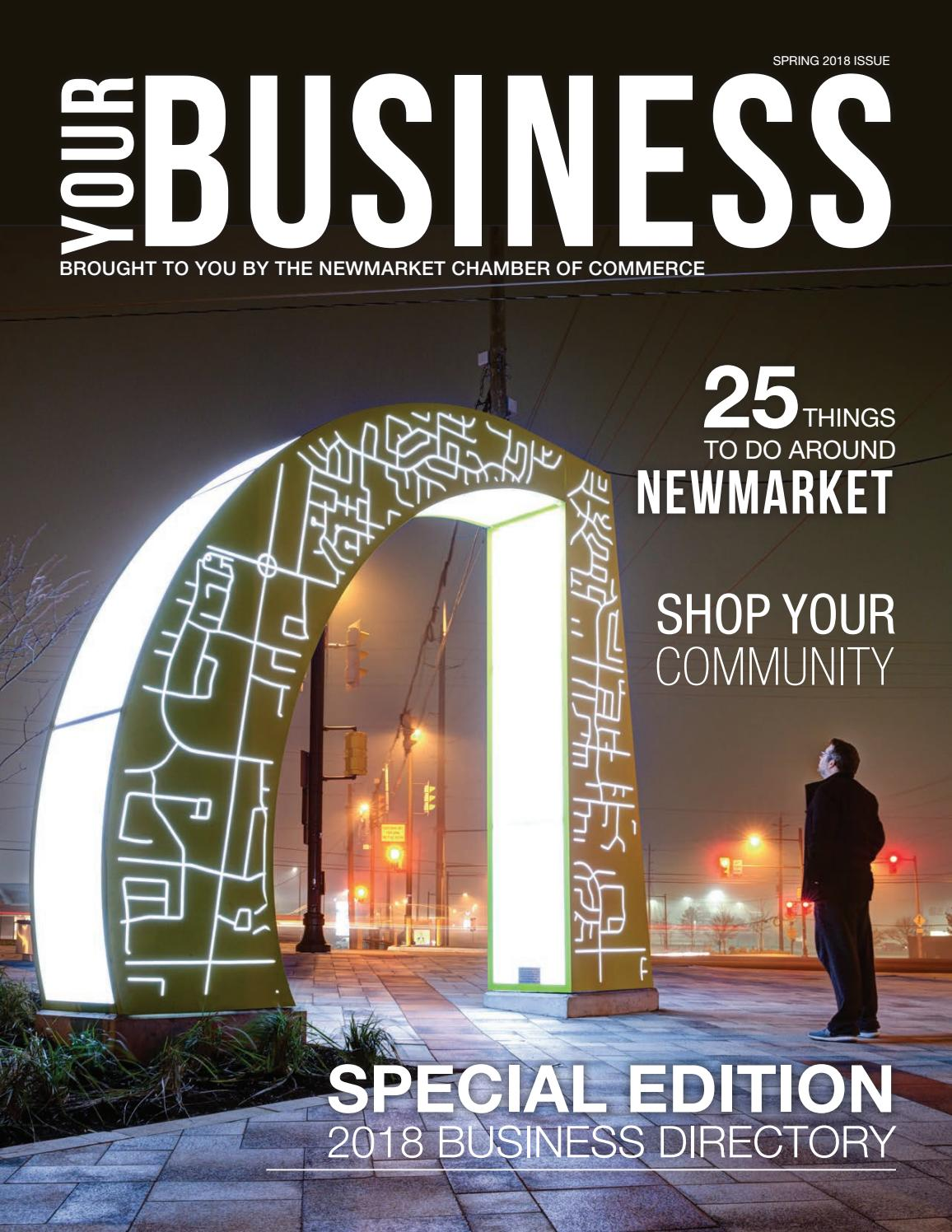 2018 your business magazine directory