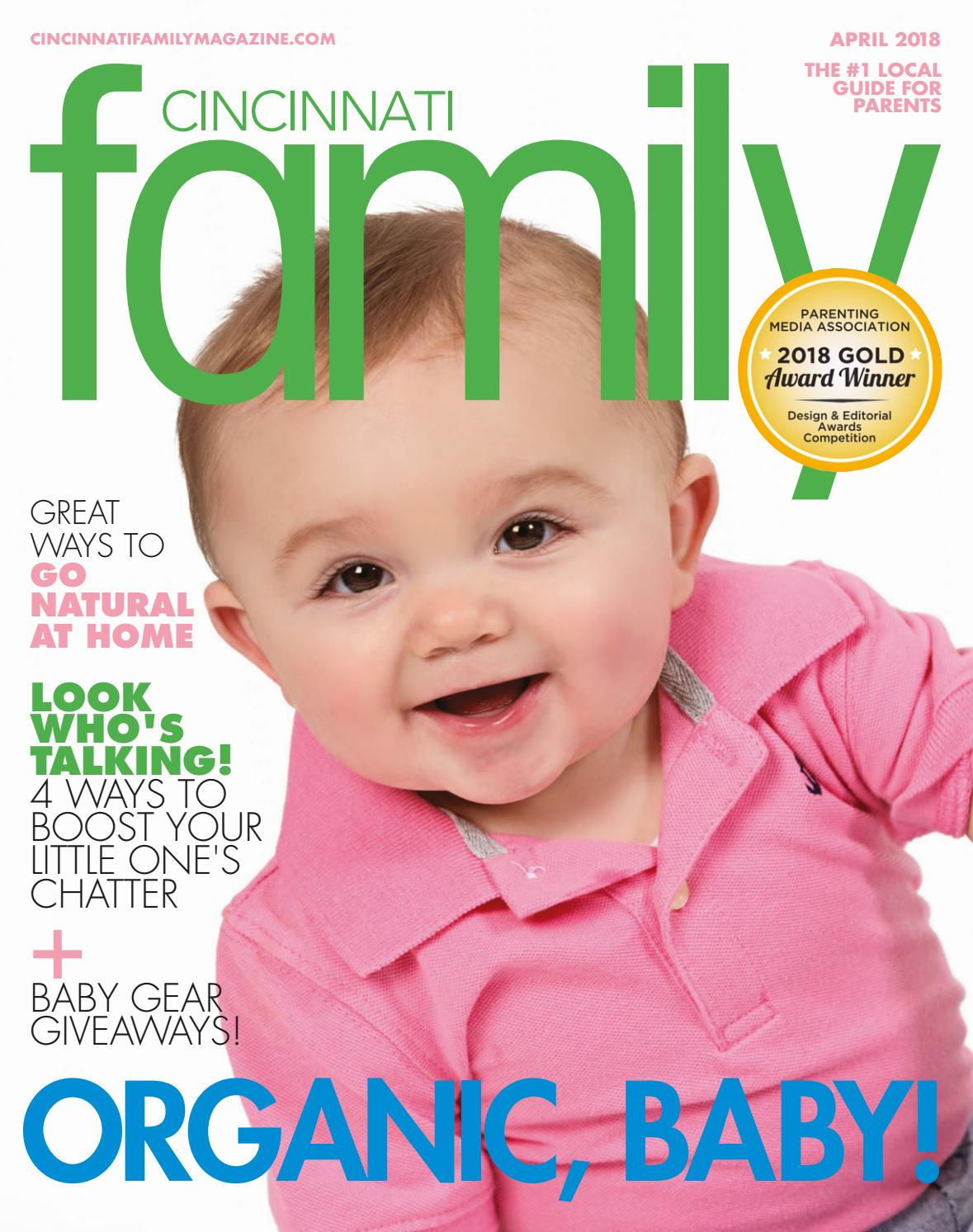 Cincinnati Family magazine April 2018 by Day Communications