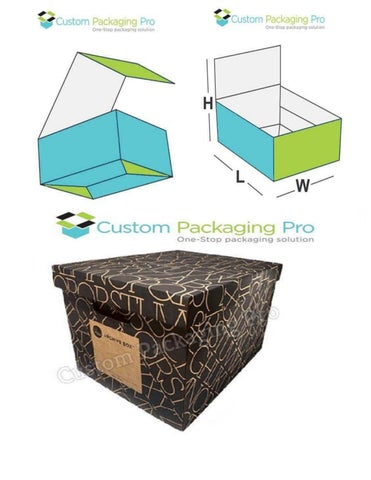 Wholesale packaging boxes buy them or ignore about it by