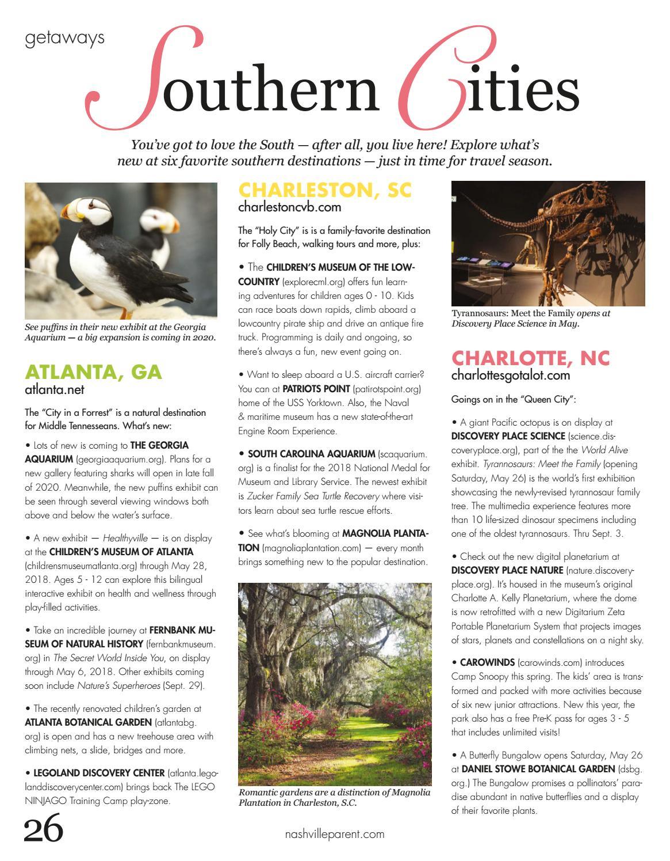 Rutherford Parent magazine April 2018