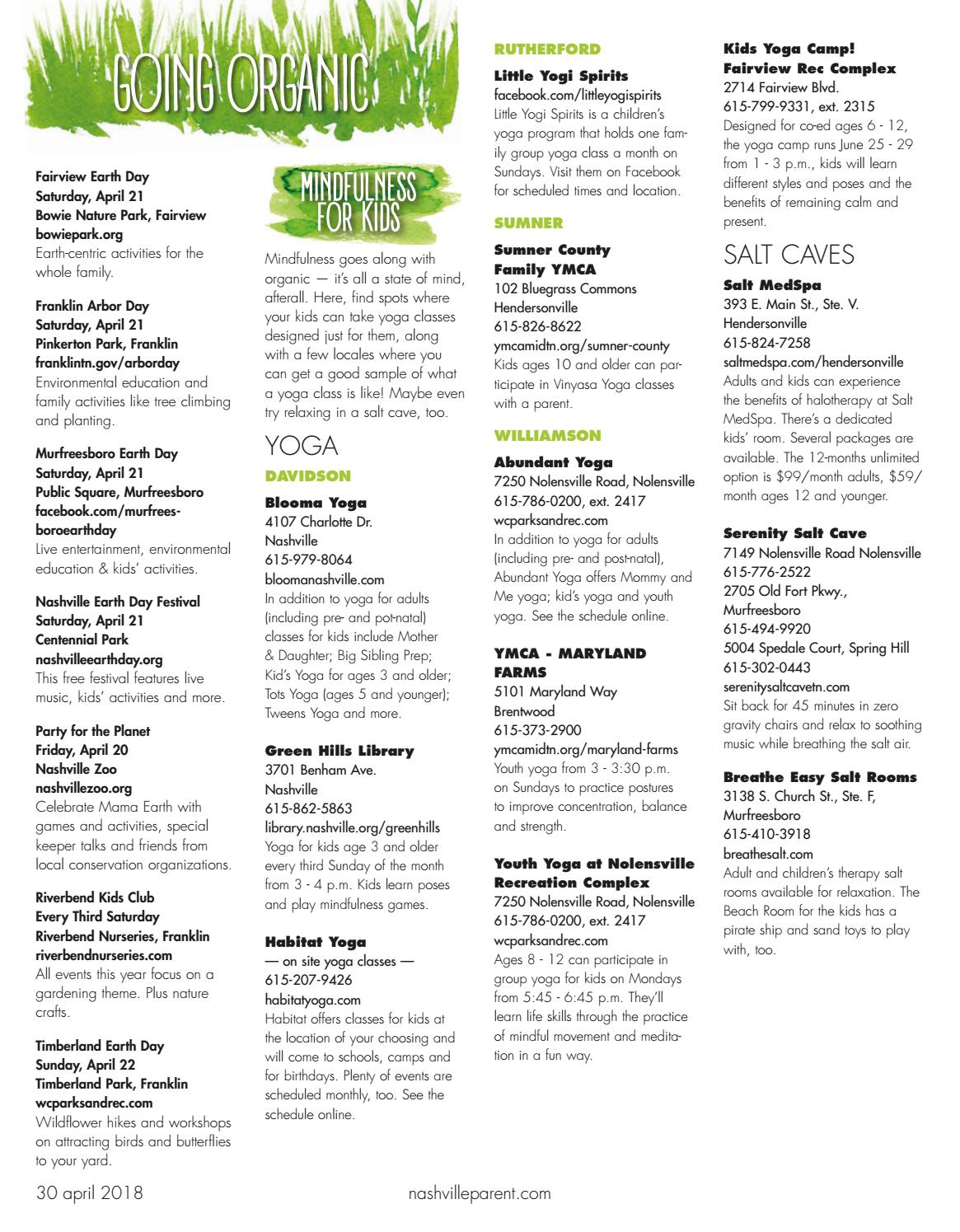 Rutherford Parent Magazine April 2018 By Day Communications Daycom Media Issuu