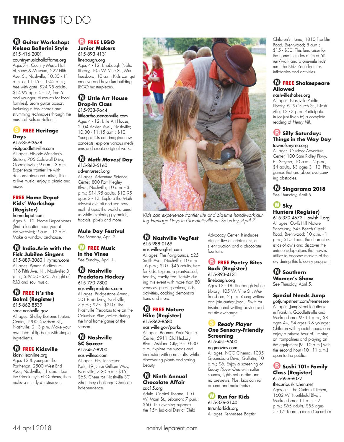 Rutherford Parent Magazine April 2018 By Day Communications Daycom
