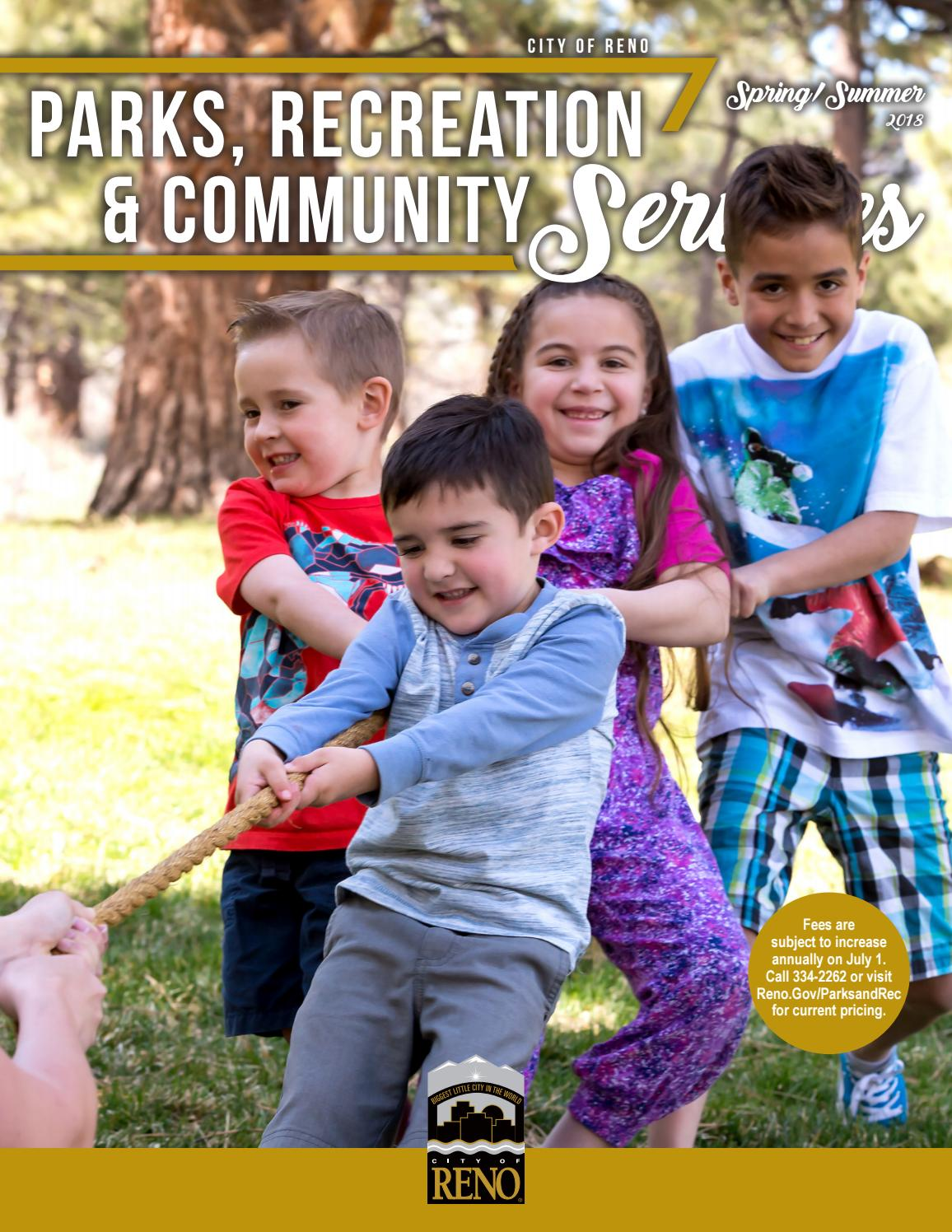 2018 Parks, Recreation and Community Services: Spring/Summer