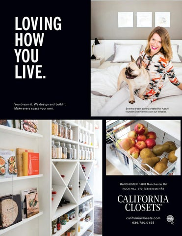 LOVING HOW YOU LIVE. Š2018 California Closet ...