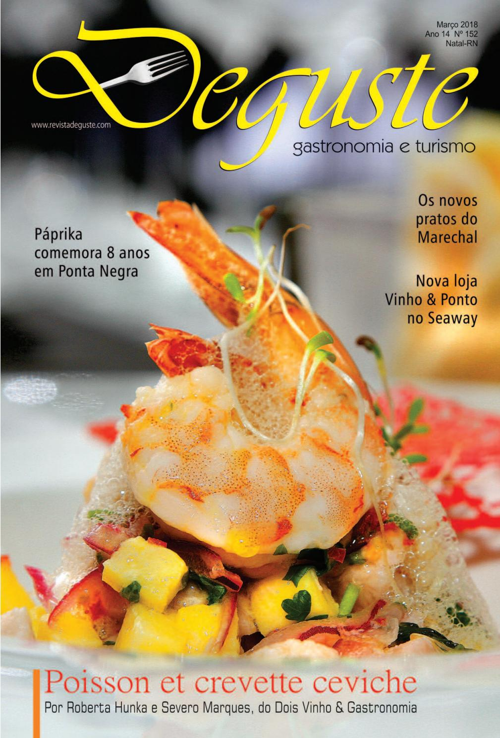 623441c2d46a4 Revista Deguste - Março 2018 by Revista Deguste - issuu