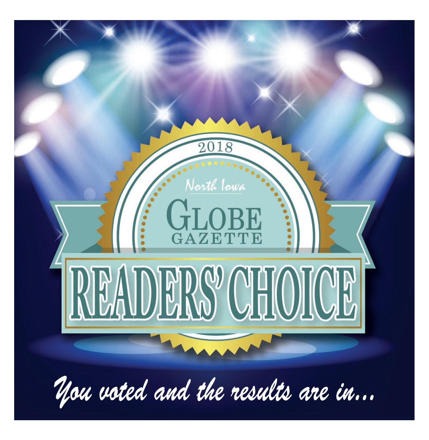 2018 Reader S Choice By Globe Gazette Issuu