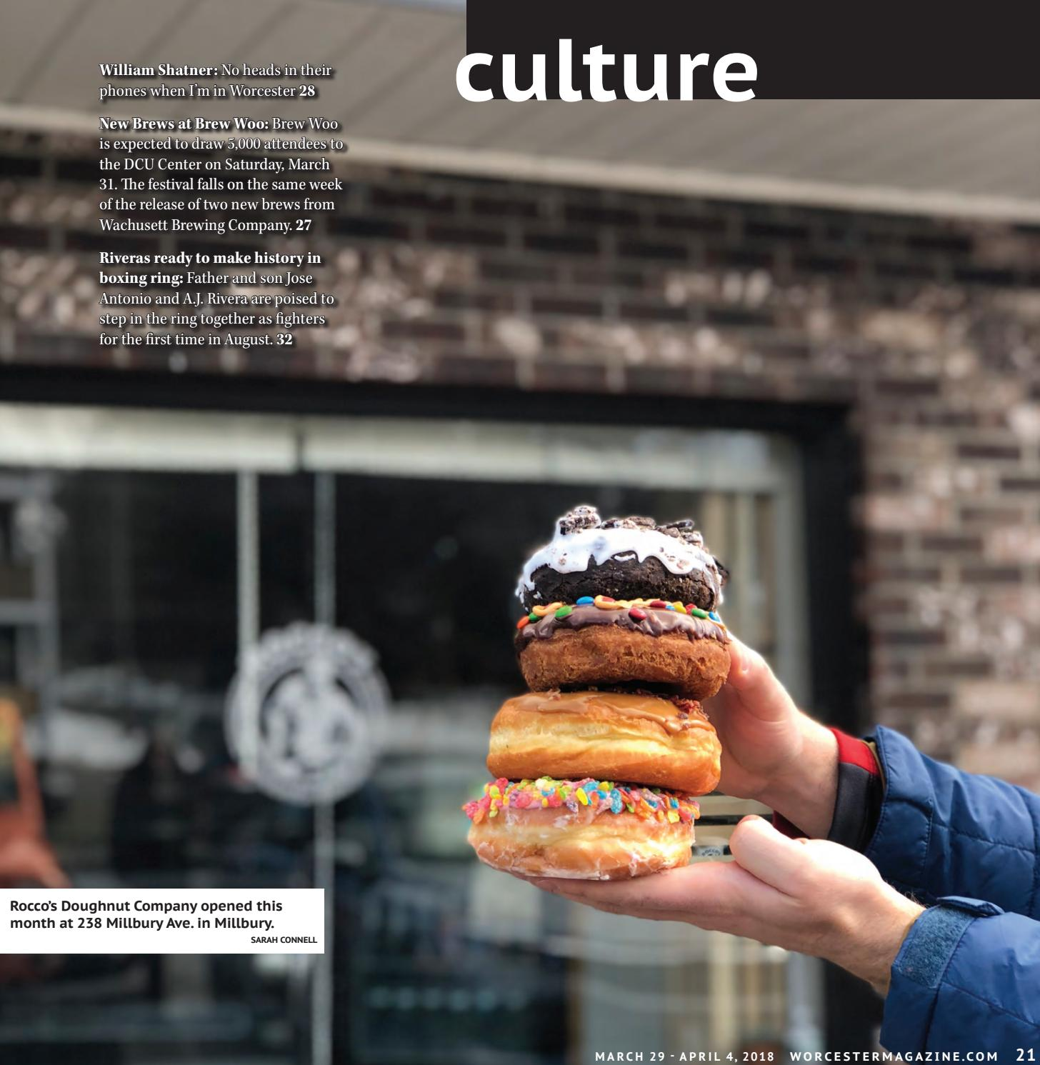 Worcester Magazine March 29 - April 4, 2018 by Worcester