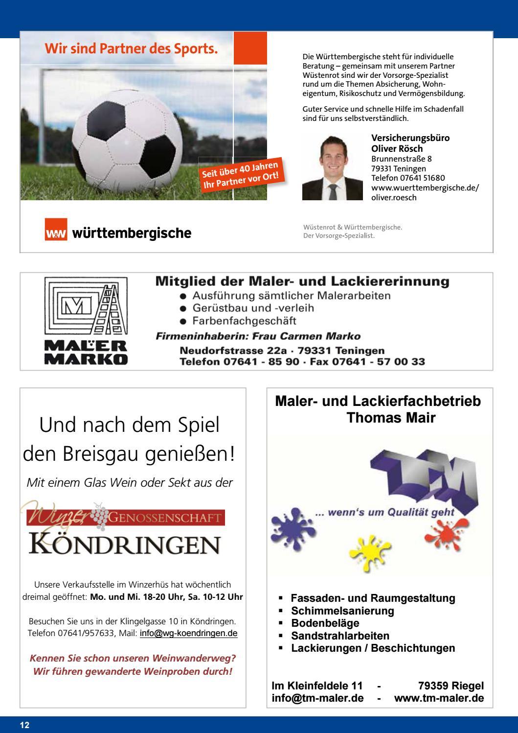 bd12ce81808e75 TVK-FUSSBALL Nr.12 17 18 by TV Köndringen Fussball - issuu