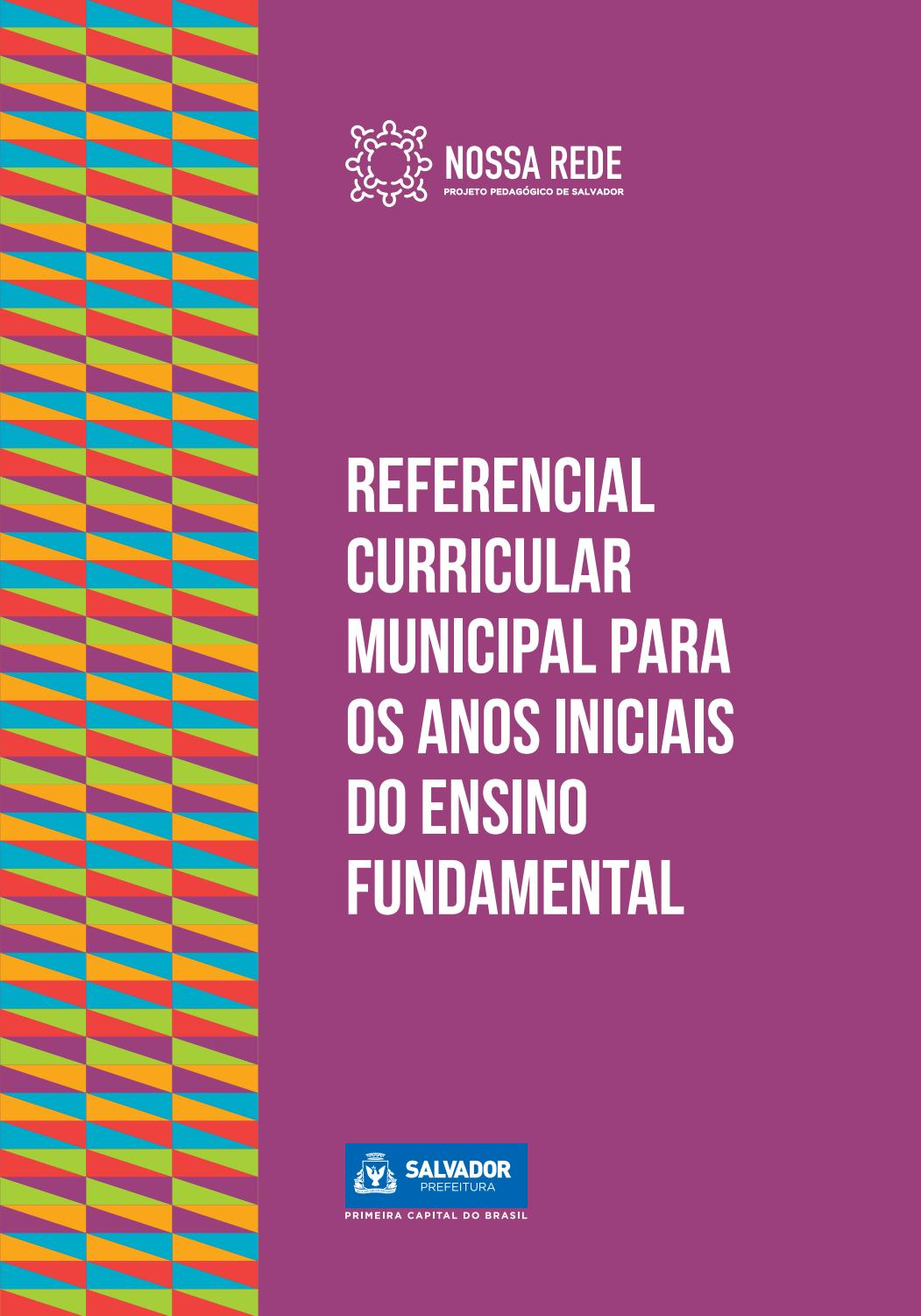 Referencial Curricular Municipal by Secretaria Municipal