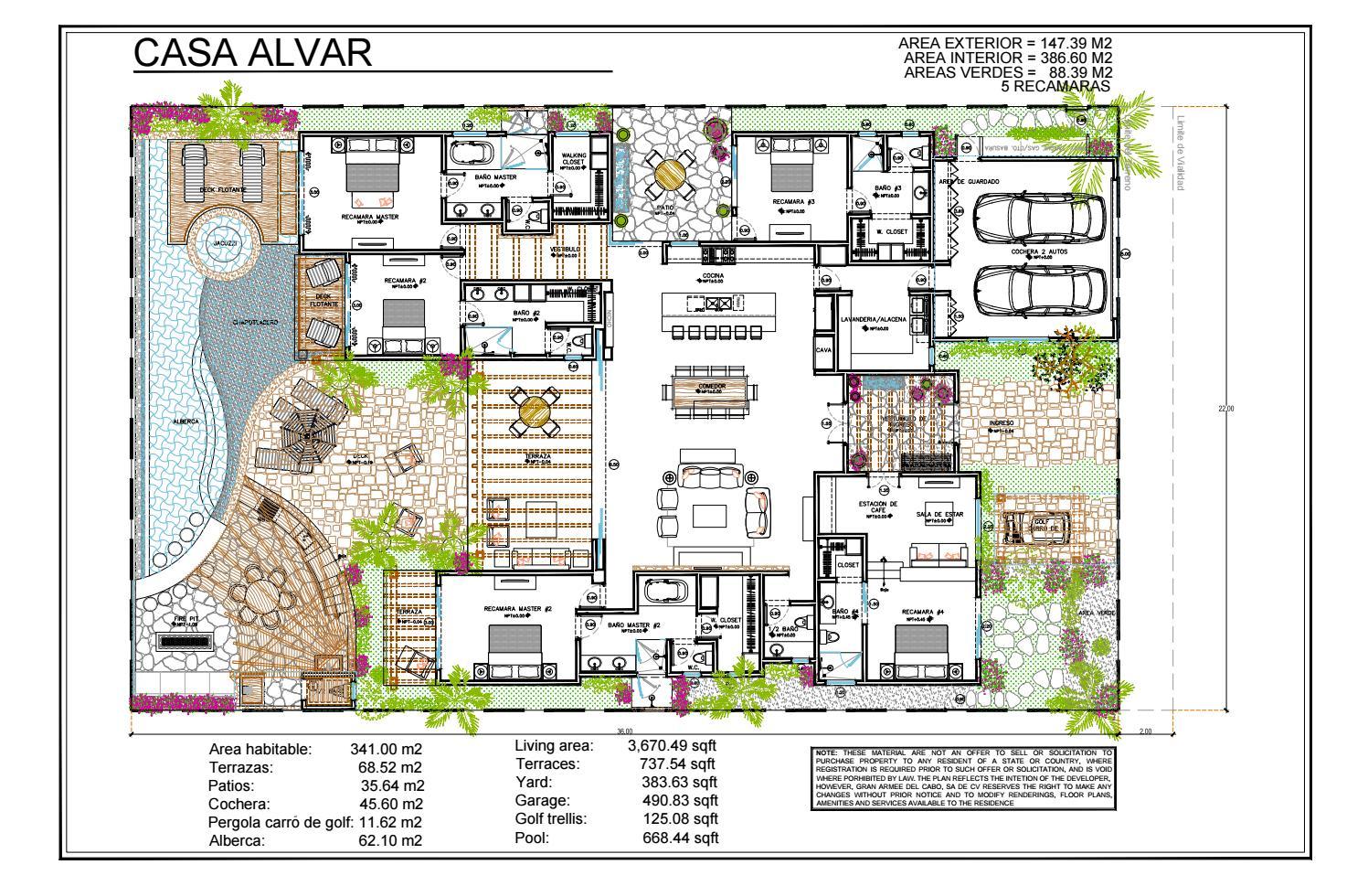 Coronado At Quivira Los Cabos Floor Plans By Discovering