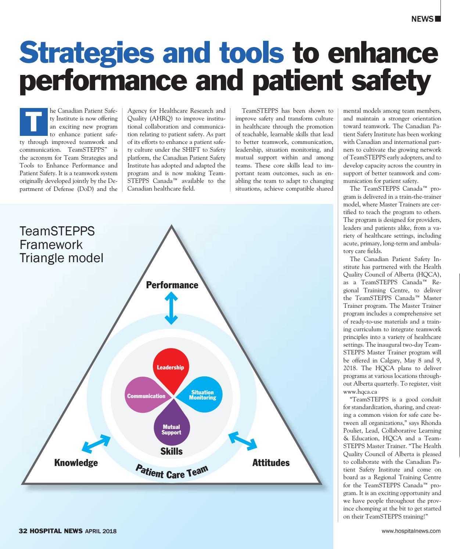 Hospital News 2018 April Edition by Hospital News - issuu