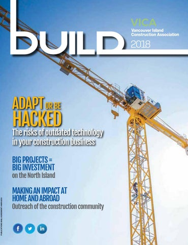 VICA Build Magazine 2018 by Vancouver Island Construction