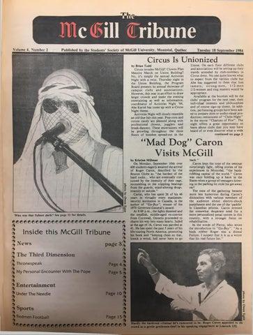 McGill Tribune Issue 16 by The McGill Tribune - issuu