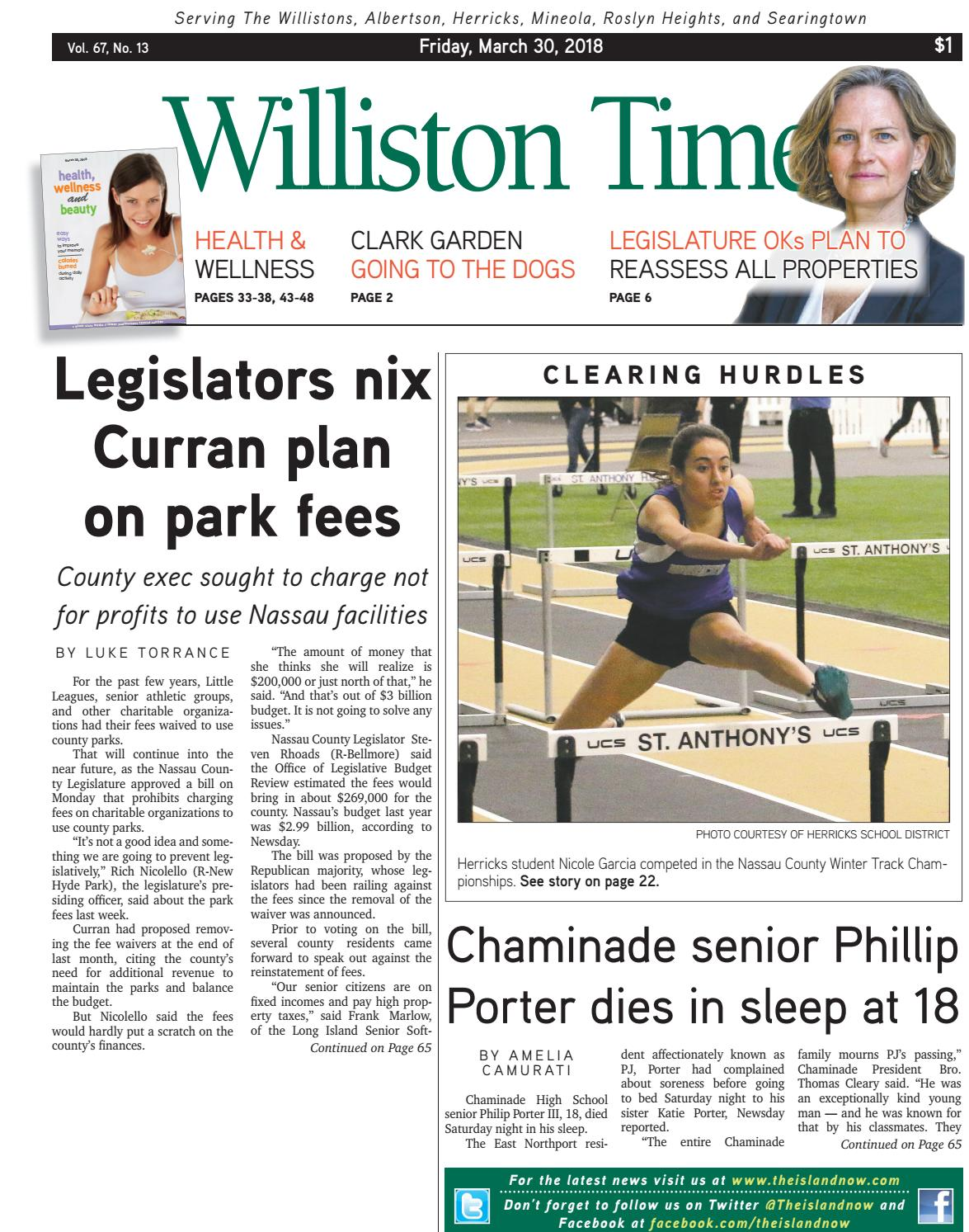 Williston Times 2018 03 30 By The Island Now Issuu