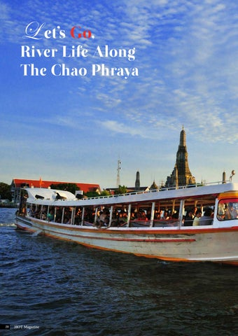 Page 28 of Let's Go, River Life Along The Chao Phraya