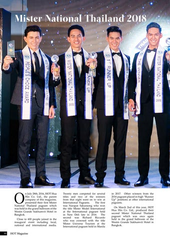 Page 44 of Mister National Thailand 2018
