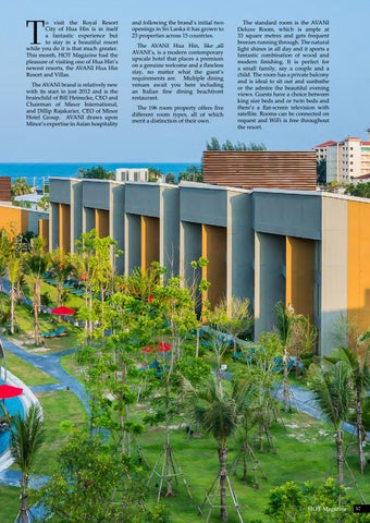 Page 57 of Let's Stay, AVANI Hua Hin Resort & Spa