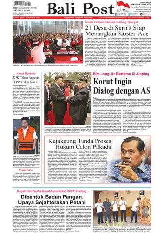 Edisi Kamis 29 Maret 2018 Balipost Com By E Paper Kmb Issuu