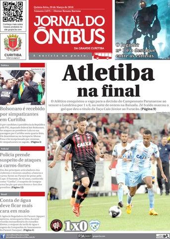 d907e66b01 Jornal do Ônibus de Curitiba - 29 03 18 by Editora Correio ...