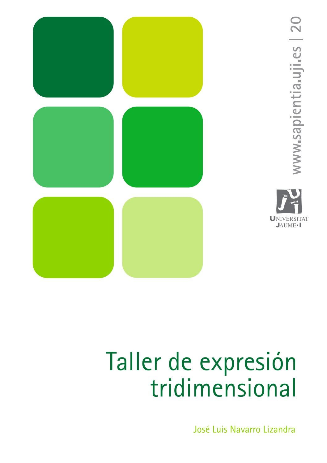 Taller de expresion tridimensional by Jhon Velasco - issuu