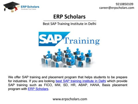 SAP Training Institute in Delhi – SAP FICO, SAP MM, SAP HR, SAP ABAP