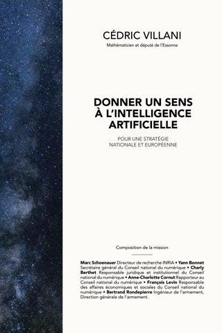Vignette du document Donner un sens à l'intelligence artificielle. Pour une stratégie nationale et européenne. Rapport au Premier Ministre