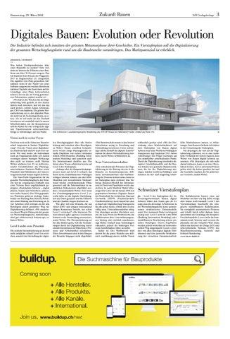 Page 3 of Digitales Bauen: Evolution oder Revolution