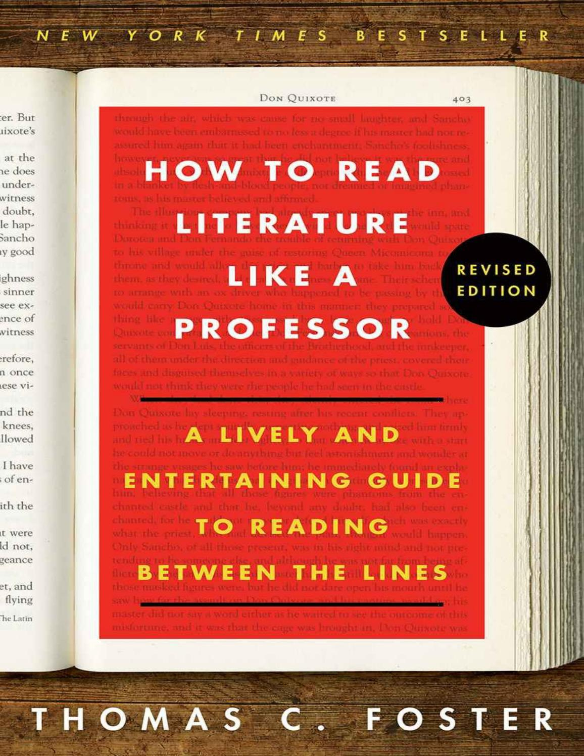 How to read literature like a professor 2nd by B K5 - issuu