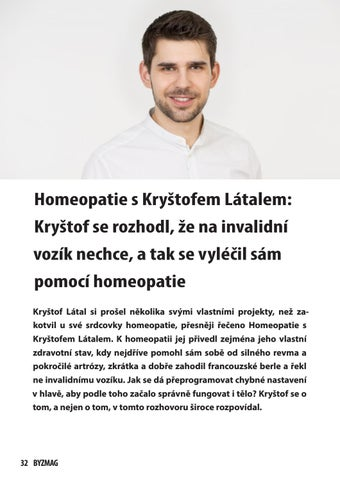 Page 32 of Homeopatie s Kryštofem Látalem