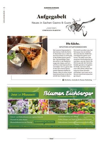 Pasta! April 2018 - Passauer Stadtmagazin für Genusskultur by Pasta ...