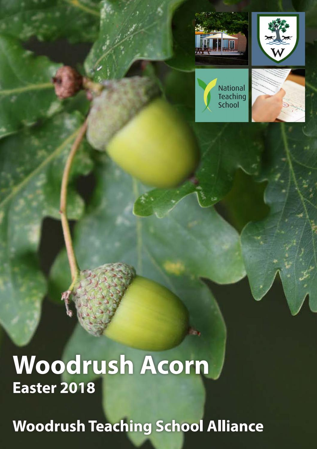 Woodrush Acorn Easter 2018 By High Issuu Are A Group Prefrawn Electrical Symbols For Making