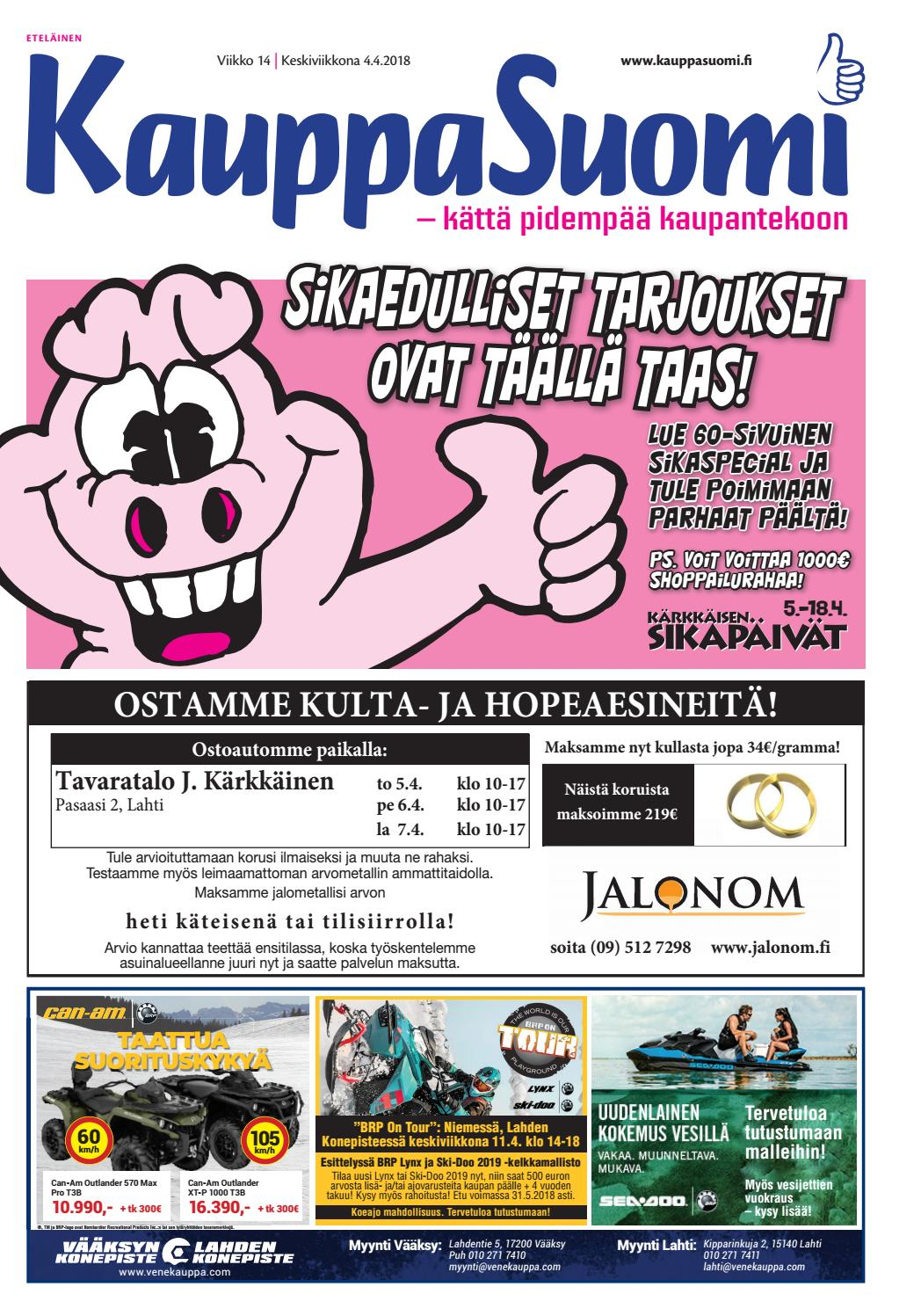 KauppaSuomi 14 2018 (E) by KauppaSuomi - issuu 427396bf04