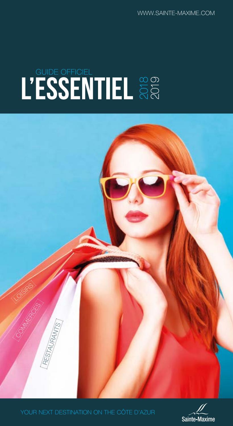 Brochure L Essentiel 2018 by Office de Tourisme de Sainte-Maxime - issuu 01c6164f41a1