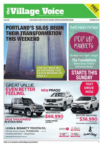 Lithgow Local Paper - Village Voice Issue 204 by Village Voice ...