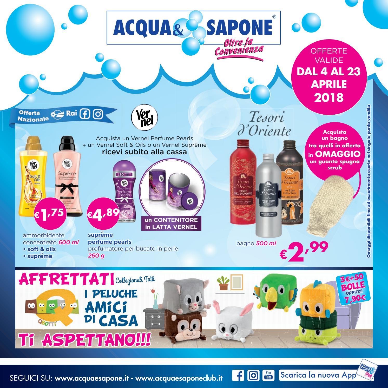 Volantino Acqua&Sapone n.6 - 2018 by Acqua & Sapone - asclub ...