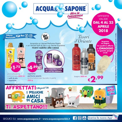 Volantino Acqua&Sapone n.6 - 2018 by Acqua & Sapone - asclub - issuu