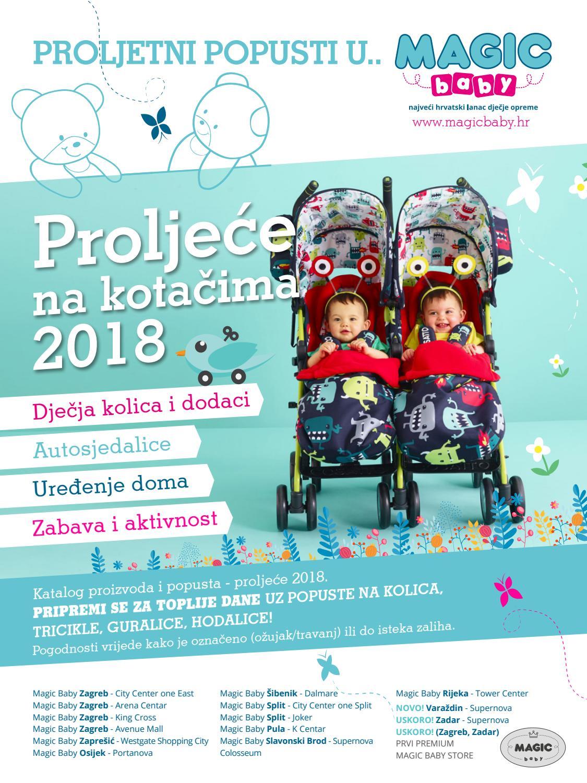 Magic baby katalog 2018 - Proljeće na kotačima by Magic ...