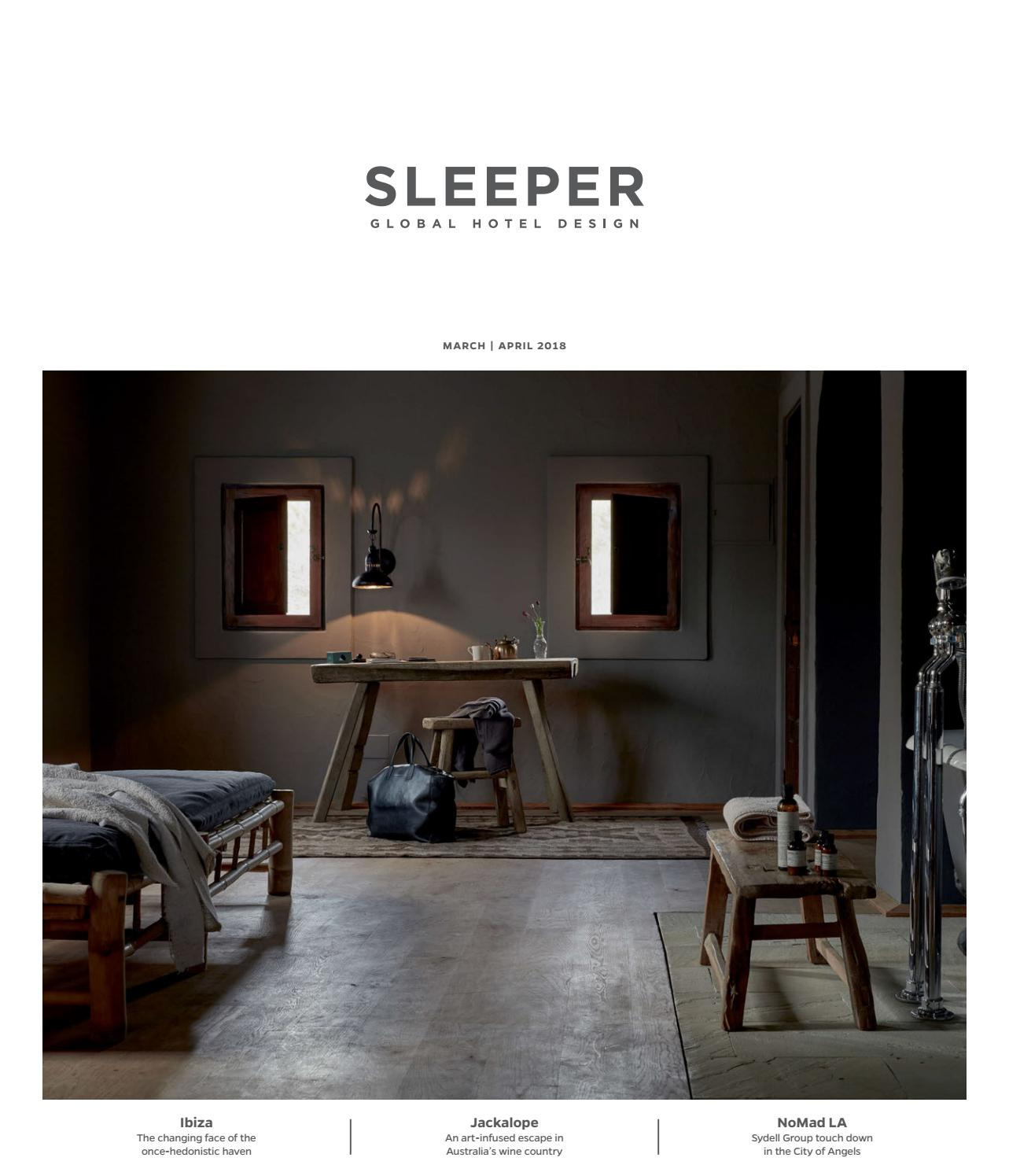 sleeper march april 2018 issue 77 by mondiale publishing issuu. Black Bedroom Furniture Sets. Home Design Ideas