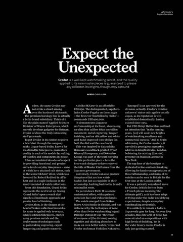 Page 31 of Expect the Unexpected