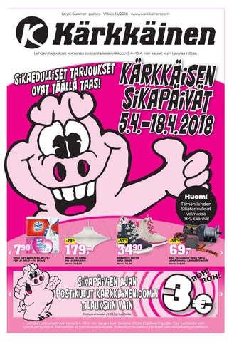 pretty nice 1d3e9 47de7 Kärkkäisen mainos (14 2018) (K-S) by Tavaratalo J. Kärkkäinen Oy - issuu