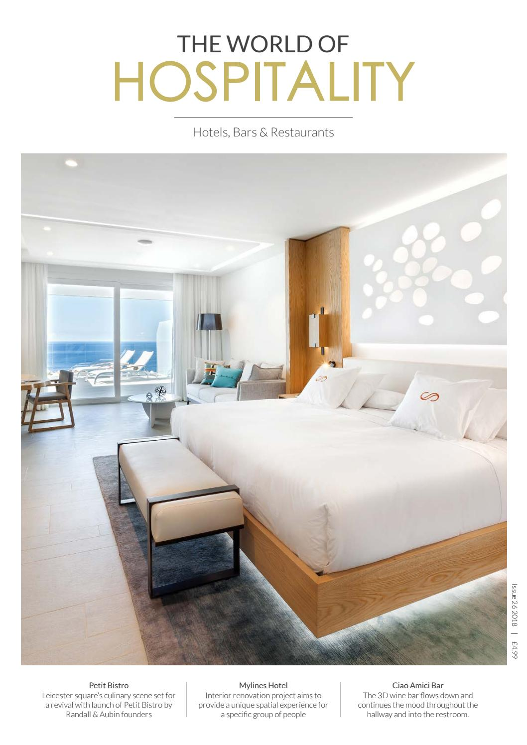 The World Of Hospitality Issue 26 2018 By The World Of