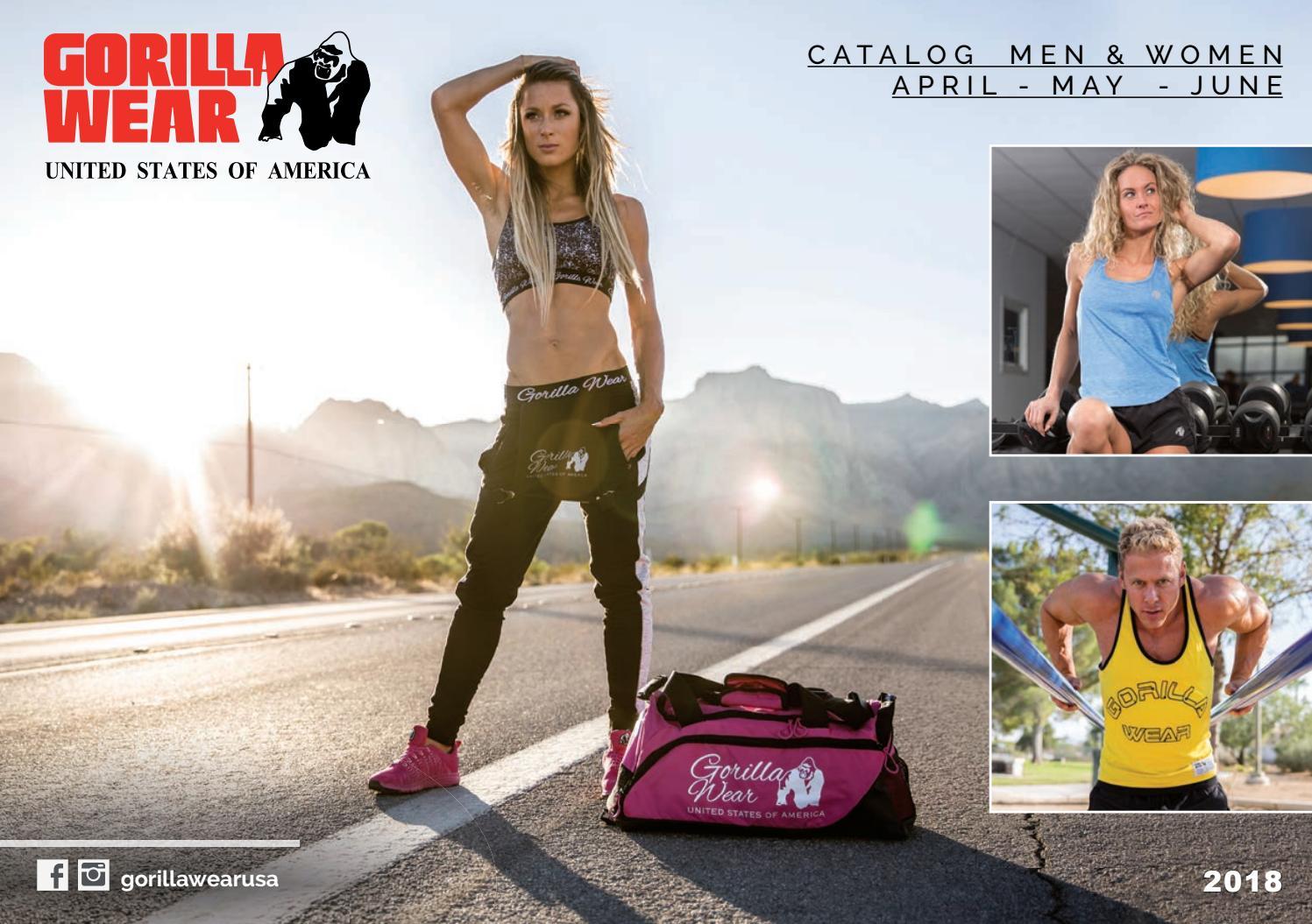 Gorilla Wear Women's Santa Monica Tank Top Black//Pink Fitness