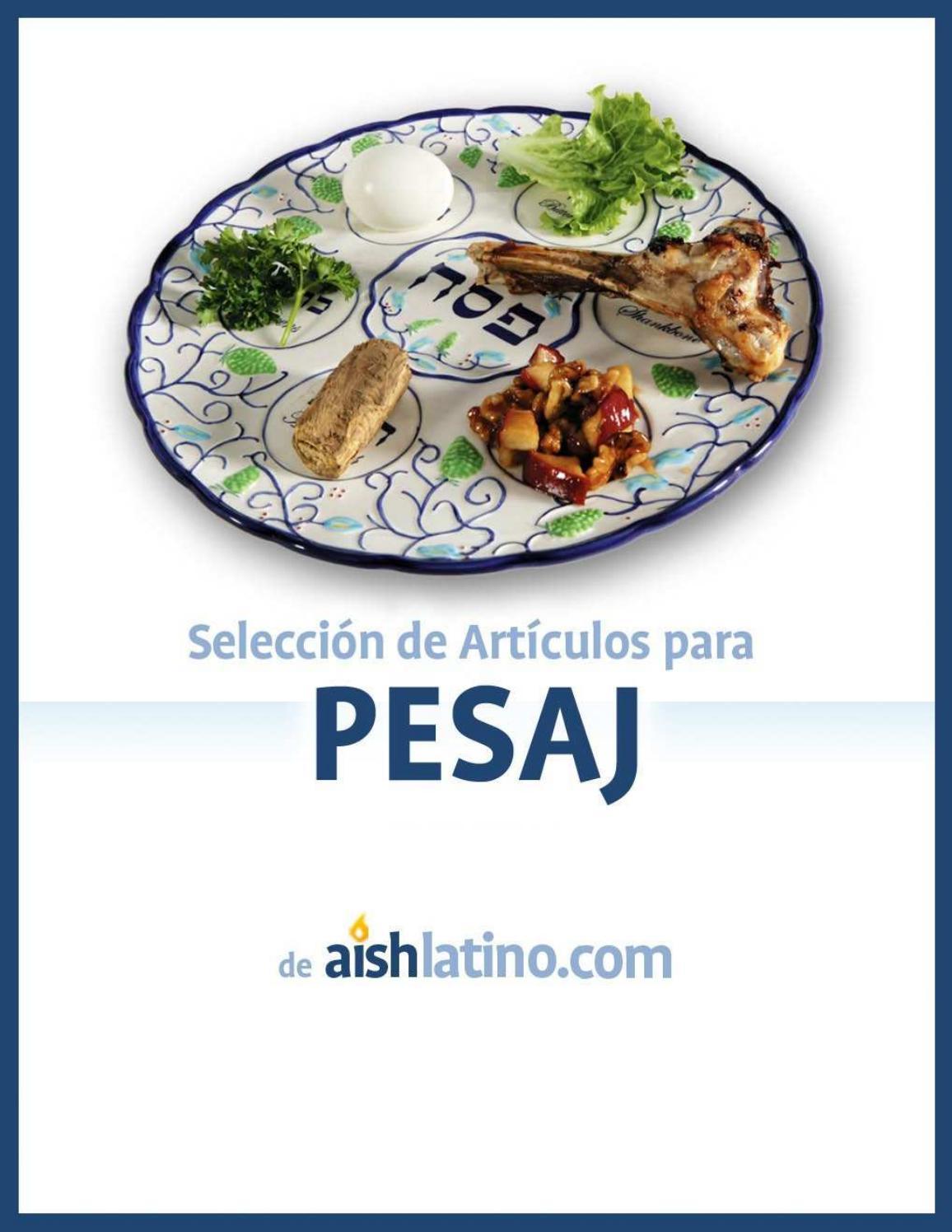 Seleccion De Articulos Para Pesaj De Aishlatino Com By Jorge